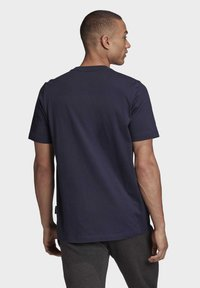 adidas Performance - MUST HAVES BADGE OF SPORT T-SHIRT - Print T-shirt - blue - 1
