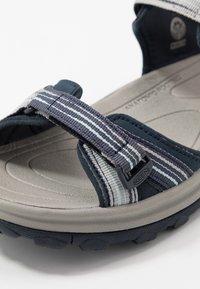 Keen - TERRADORA II OPEN TOE - Walking sandals - navy/light blue - 5