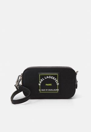 PATCH CAMERA - Camera bag - black