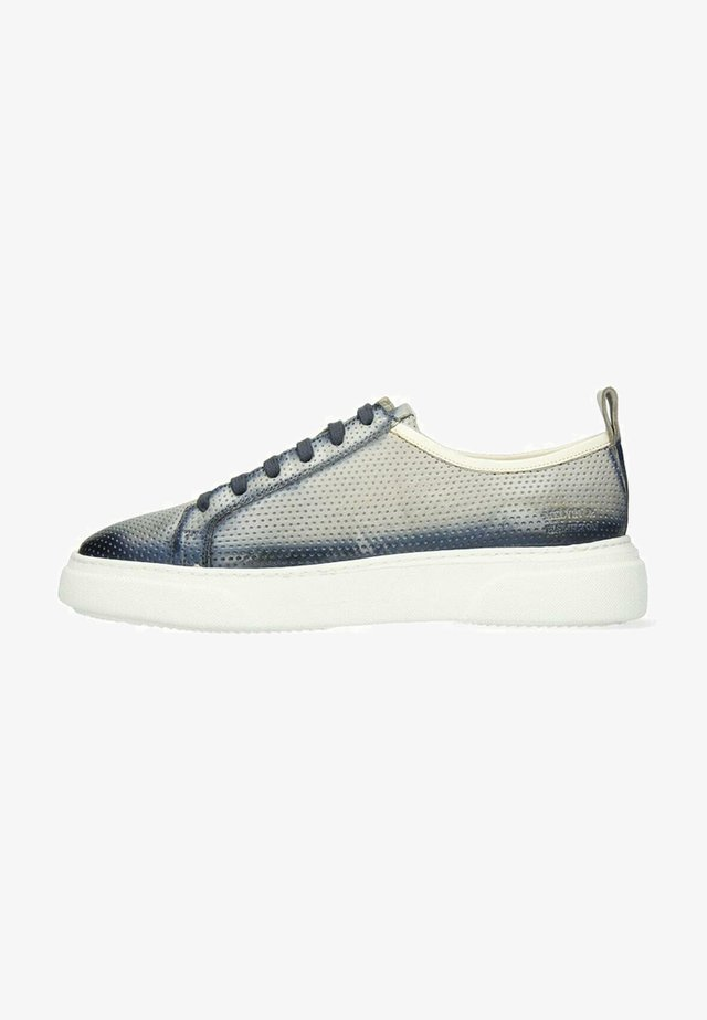 HARVEY VEGAS PERFO OXYGEN SHADE - Sneakers laag - grey