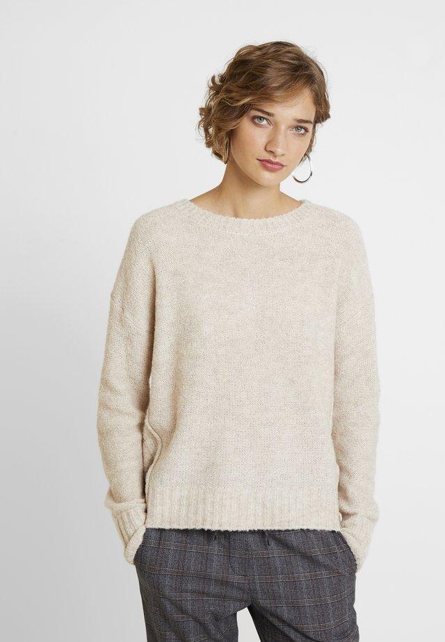 BOUCLE - Cardigan - beige