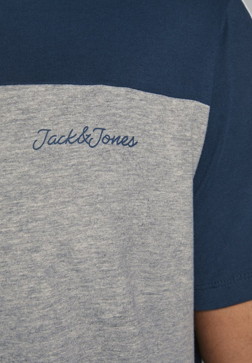 Jack & Jones Print T-shirt - light grey melange pEZXF