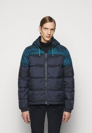 HOODED JACKET - Light jacket - dark blue