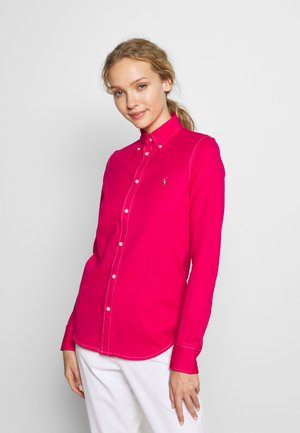 HEIDI LONG SLEEVE - Button-down blouse - sport pink