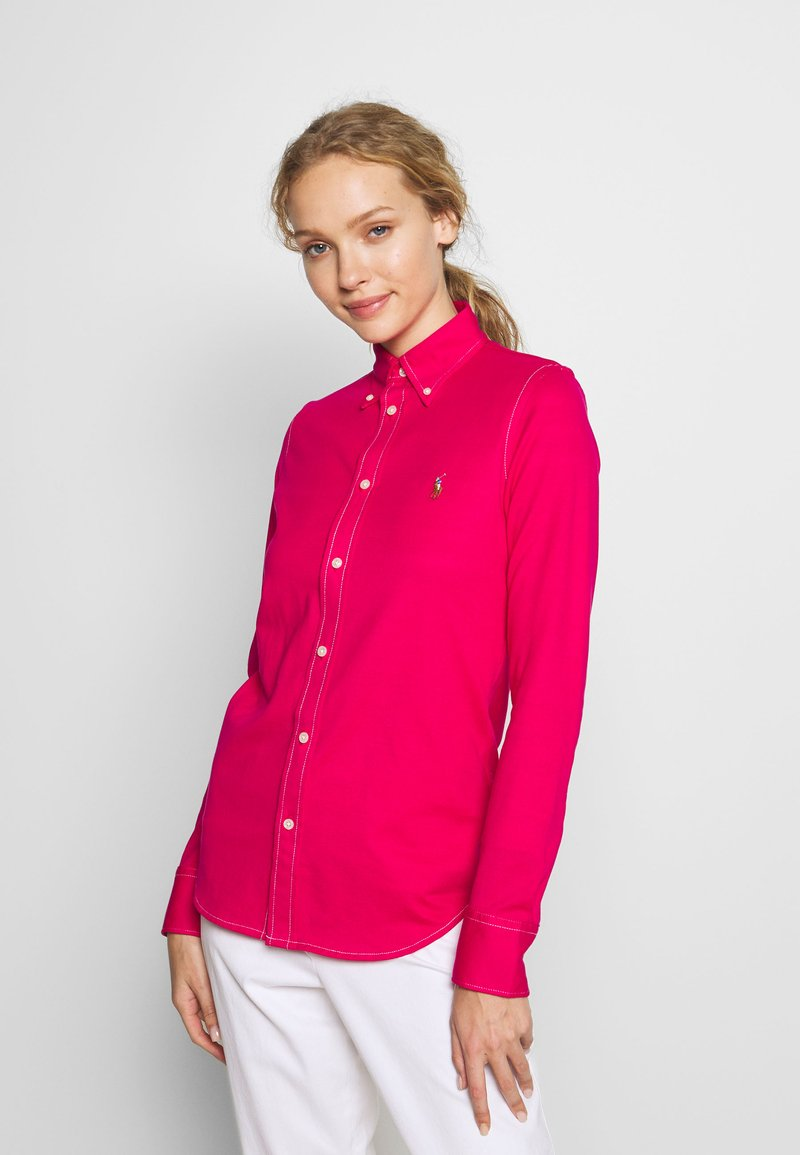Polo Ralph Lauren - HEIDI LONG SLEEVE - Button-down blouse - sport pink