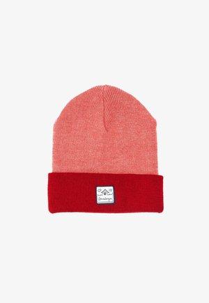 LUCAS - Beanie - coral/red