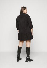 ONLY Carmakoma - CARPIERRA TUNIC DRESS - Day dress - black - 2