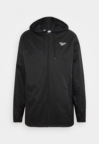 Reebok Classic - VECTOR WINDBREAKER - Summer jacket - black - 4