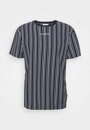 BRAWS TEE - Print T-shirt - navy