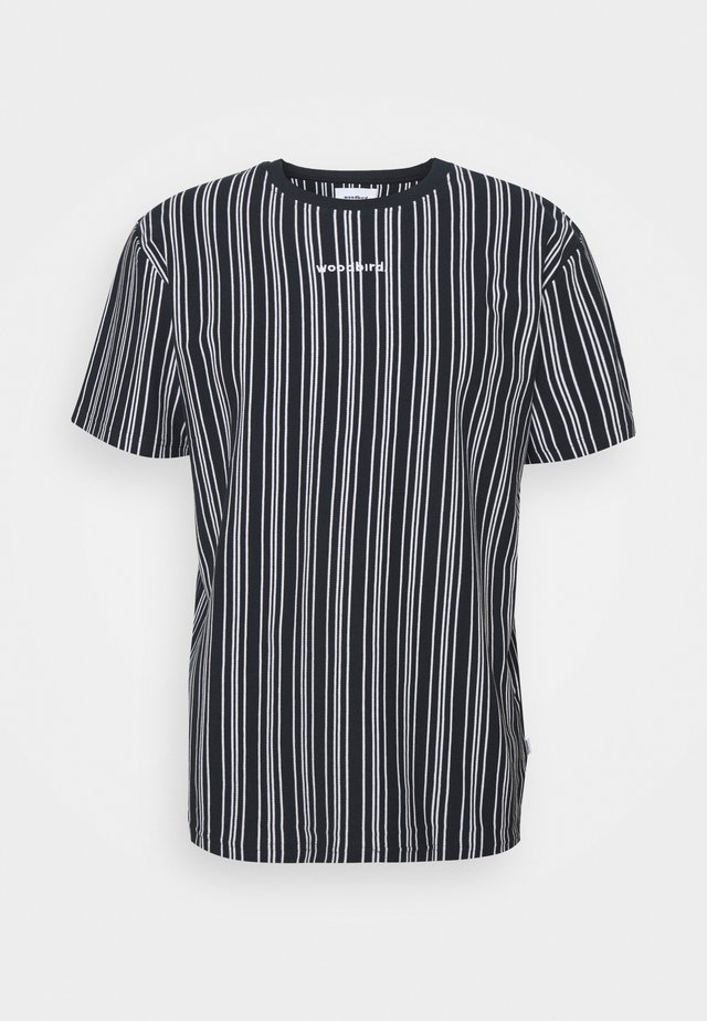 BRAWS TEE - T-shirt con stampa - navy