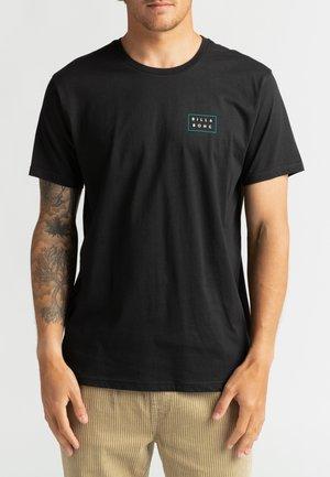 DIE CUT THEME  - Print T-shirt - black