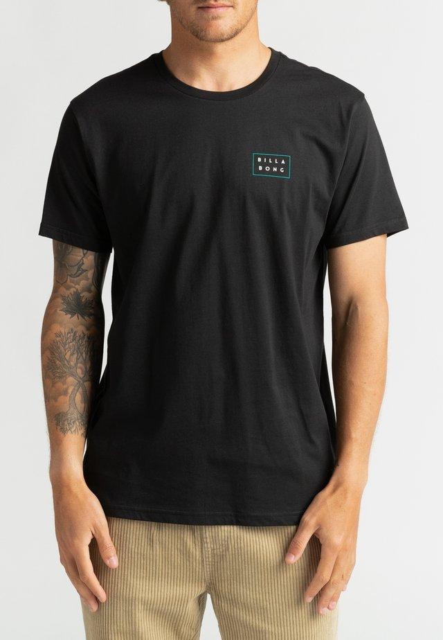 DIE CUT THEME  - T-shirt con stampa - black