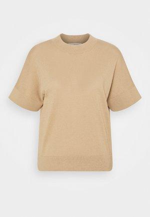SLFMAJA - Basic T-shirt - taupe