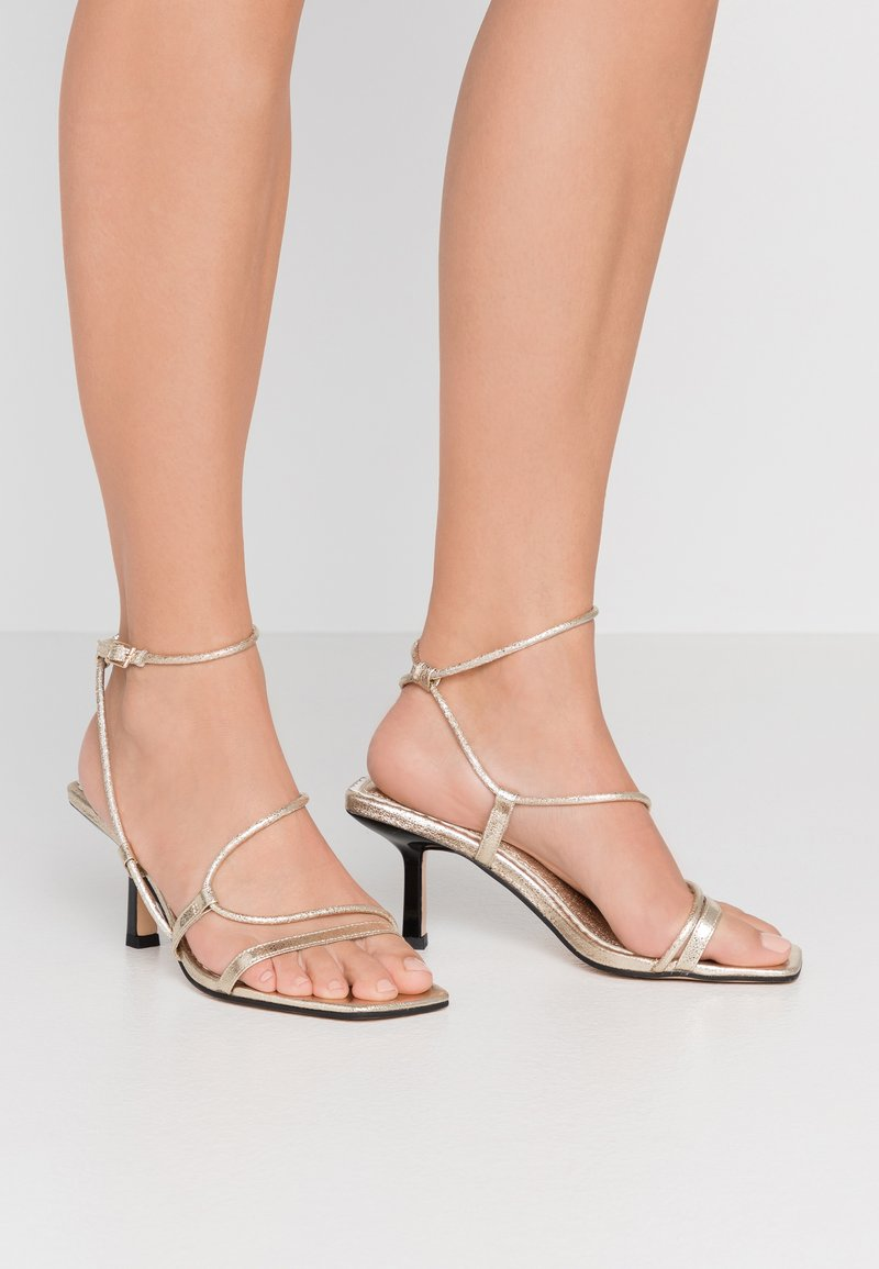 River Island Wide Fit - Sandals - gold