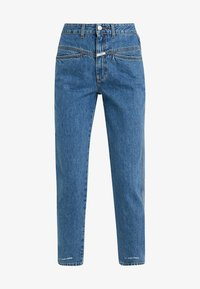 CLOSED - PEDAL PUSHER - Relaxed fit jeans - mid blue - 4