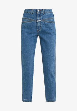 PEDAL PUSHER - Relaxed fit jeans - mid blue