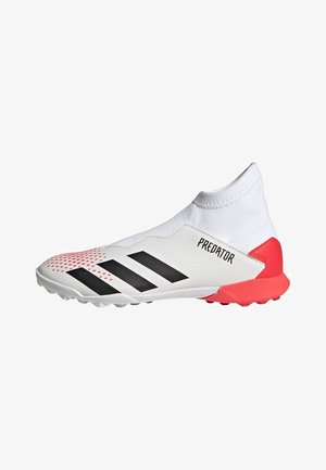 PREDATOR 20.3 TURF BOOTS - Moulded stud football boots - white