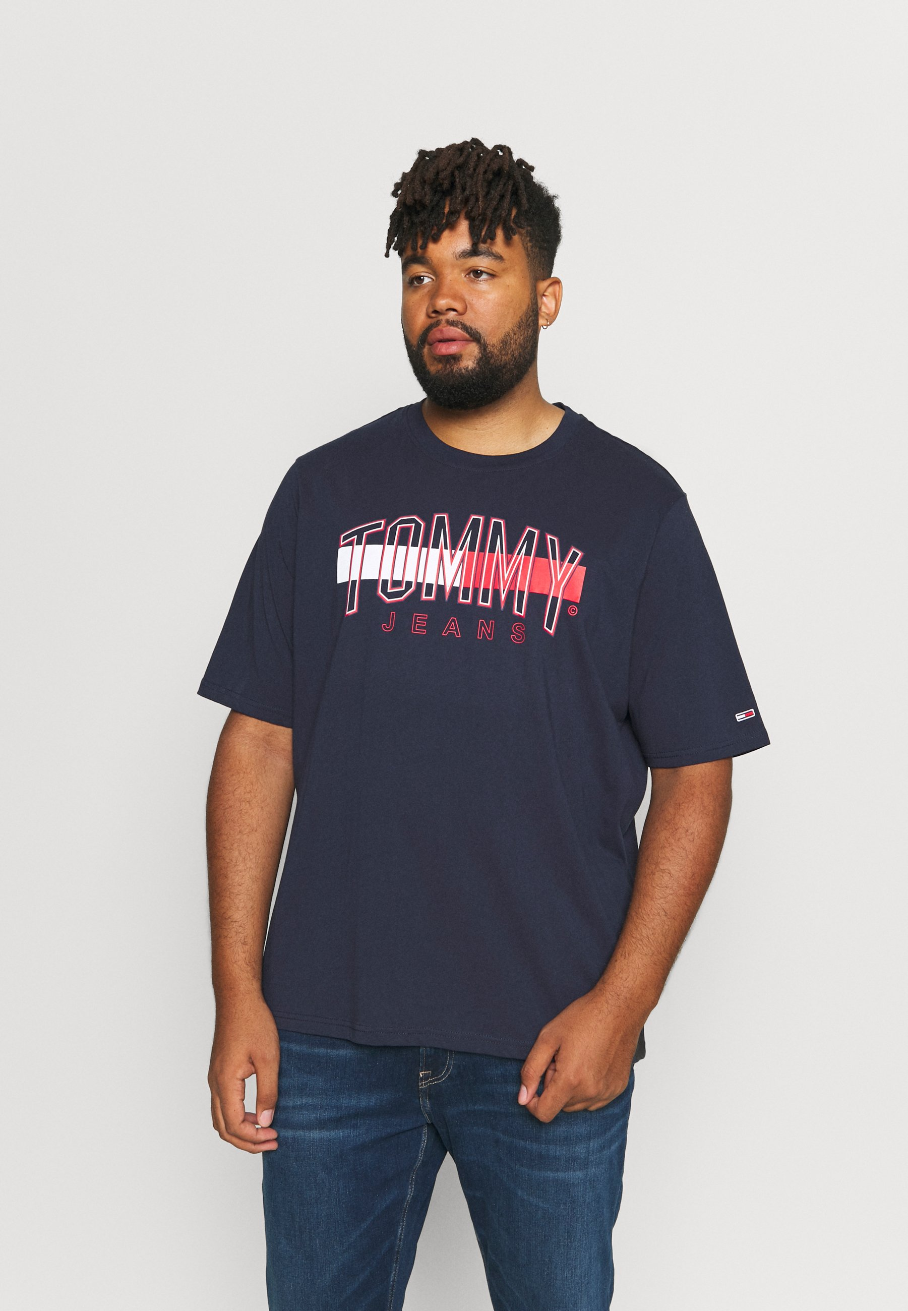 Men FLAG TOMMY TEE - Print T-shirt