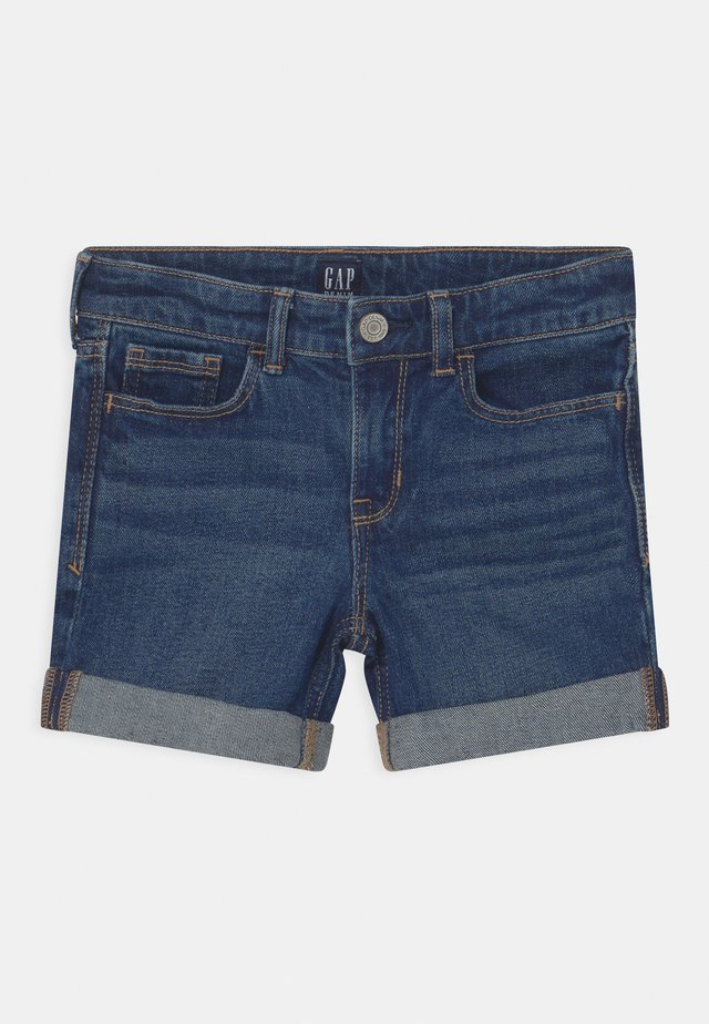 GIRL  - Shorts di jeans - dark-blue denim