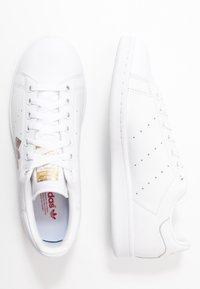 adidas Originals - STAN SMITH - Baskets basses - footwear white/core black/gold metallic - 3