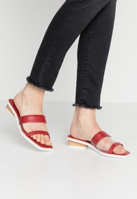 Who What Wear - LUCY - Mules - red - 0