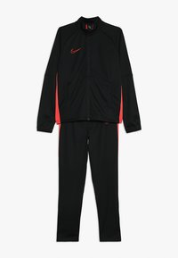 Nike Performance - DRY ACADEMY SET - Tracksuit - black/ember glow - 0