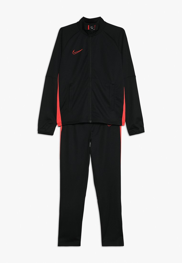Nike Performance - DRY ACADEMY SET - Tracksuit - black/ember glow