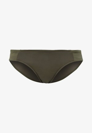 QUILTED HIPSTER - Bikini pezzo sotto - dark olive