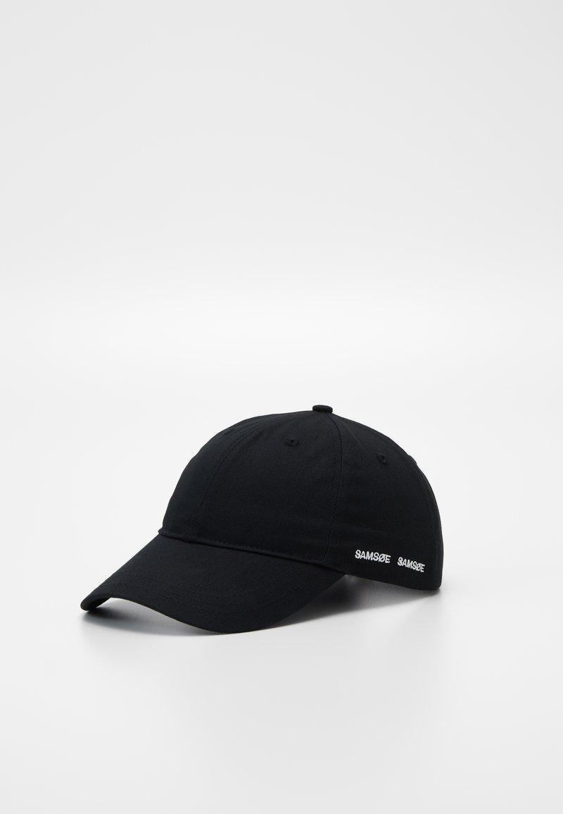 Samsøe Samsøe - ARIBO UNISEX - Cappellino - black