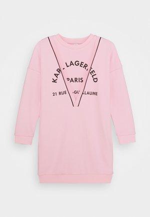 DRESS - Korte jurk - pink