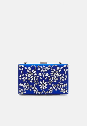 CLARICE EMBELLISHED RECTANGLE - Clutch - blue