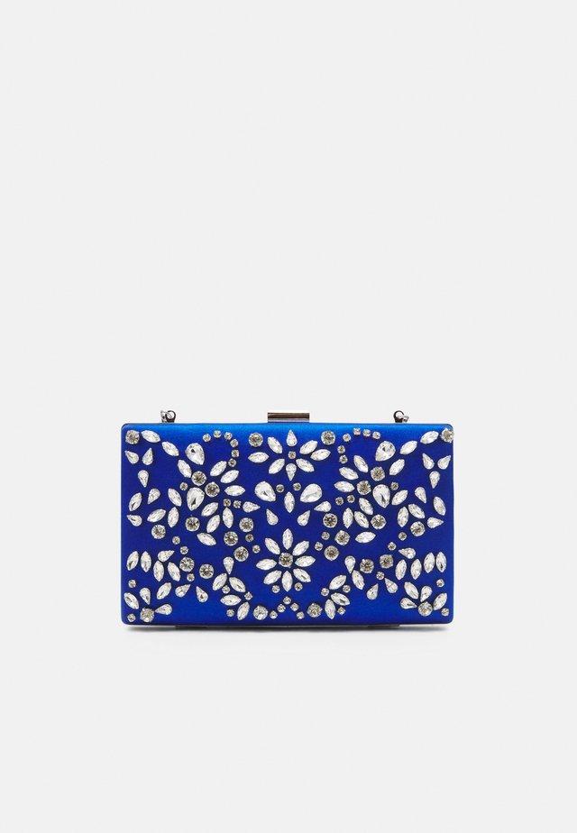 CLARICE EMBELLISHED RECTANGLE - Pochette - blue