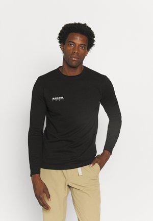 LONGSLEEVE MEN - Långärmad tröja - black