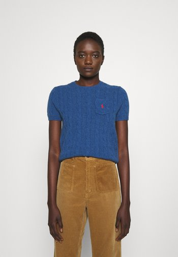 TEE SHORT SLEEVE - T-shirt con stampa - aged royal heather