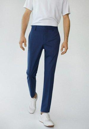 PAULO - Pantaloni eleganti - tintenblau