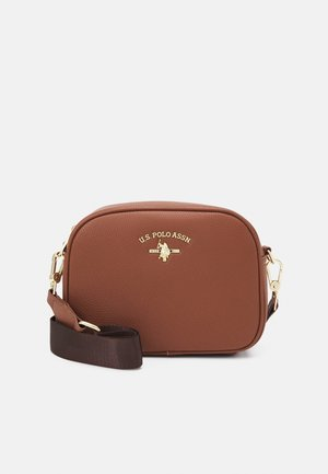 STANDFORD CROSSBODY - Olkalaukku - brown