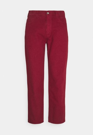 TEARAWAY - Trousers - red