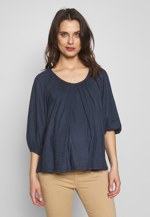 AIR BLOUSE - Long sleeved top - blue