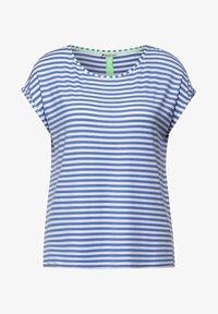 Street One - Print T-shirt - blue - 0