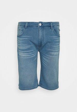 KEN PLUS - Denim shorts - blue wash