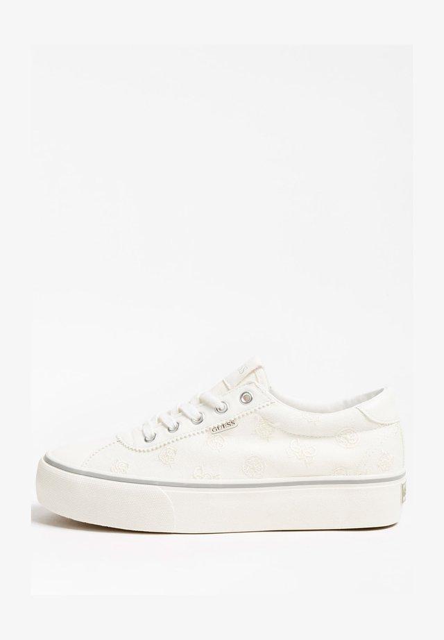 Sneakersy niskie - weiß