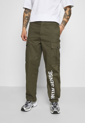 PANTS UNISEX - Cargo trousers - khaki