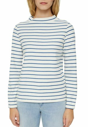 RELAXED FIT - Long sleeved top - bright blue