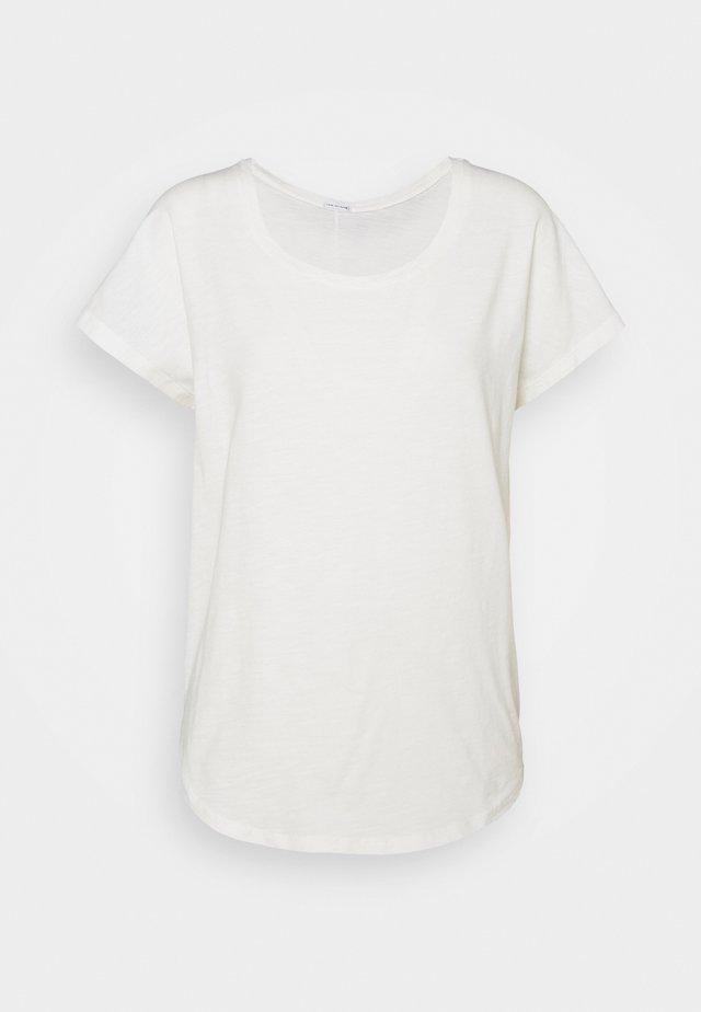 CREW RELAX - Jednoduché triko - blanc