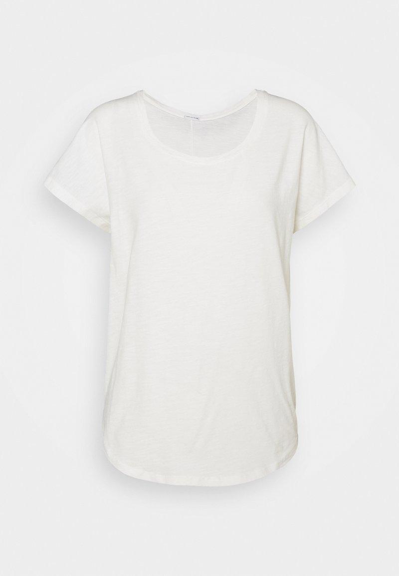 True Religion - CREW RELAX - Jednoduché triko - blanc
