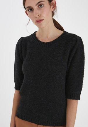 IHOLTA  - Print T-shirt - black