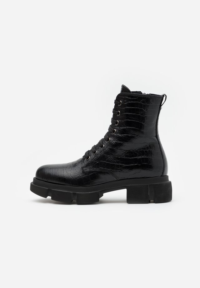 NASTA  - Bottines à plateau - nero