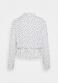 Marks & Spencer London - SPOT PEPLUM TOP - Long sleeved top - off-white - 1