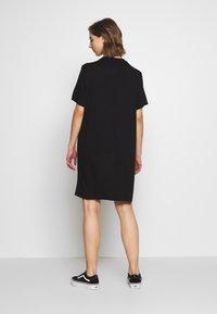 Monki - KARINA DRESS - Jersey dress - black - 2
