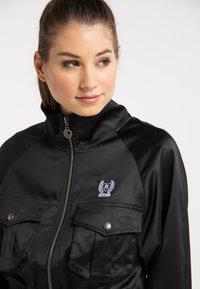 myMo - CROPPED - Light jacket - schwarz - 3